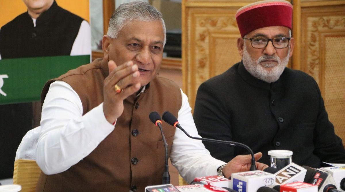 Gen VK Singh, Blame game, Pulwama attack, Pulwama terror attack, Chandigarh, New India, Narendra Modi, BJP, Kashmir