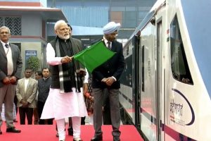 PM Modi flags off Vande Bharat Express, India's fastest train