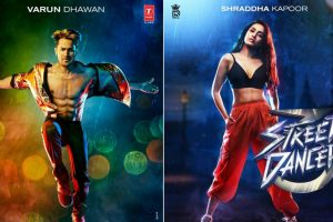 Street Dancer posters: Varun Dhawan and Shraddha Kapoor ready for dance battle