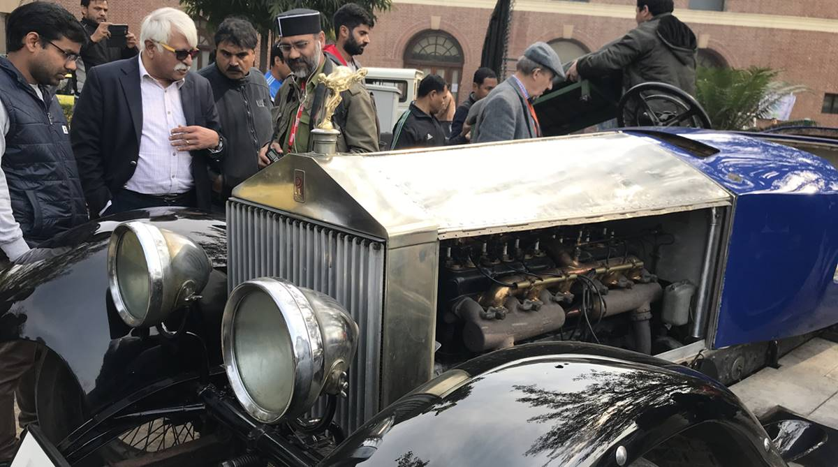 The Statesman vintage car rally: Old and classic get their due
