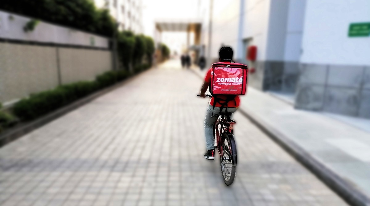 Zomato starts bicycle delivery