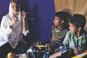 UNHCR envoy Angelina Jolie visits Rohingya refugees in Bangladesh