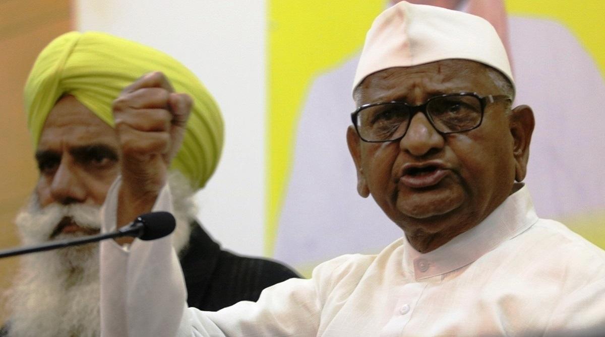 BJP, Anna Hazare, Bharatiya Janata Party, 2014 Lok Sabha elections, Lokpal, Aam Aadmi Party, AAP, Prime Minister Narendra Modi, Arvind Kejriwal