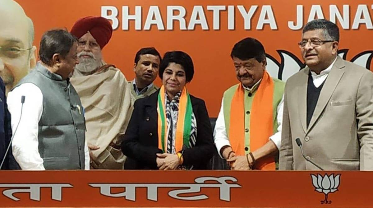 Former Bengal IPS officer Bharati Ghosh joins BJP