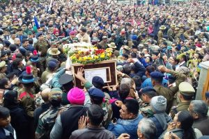 Dehradun bids emotional adieu to Major Chitresh Bisht