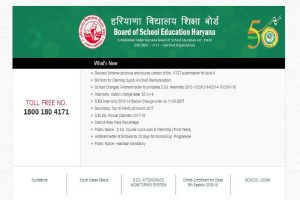 Haryana Board admit cards 2019 released at bseh.org.in | Check all information here