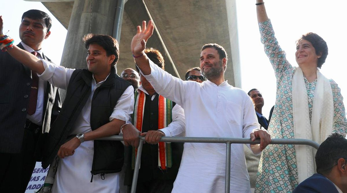 Lucknow, Priyanka Gandhi Vadra, Priyanka Gandhi, Congress, Uttar Pradesh, Jyotiraditya Scindia, Lok Sabha elections, Uttar Pradesh Congress, RSS, BJP, Narendra Modi, Raj Babbar