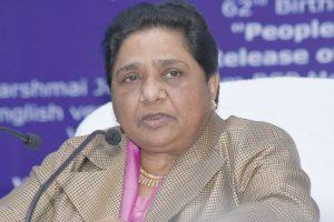 BJP scared of SP-BSP alliance: Mayawati