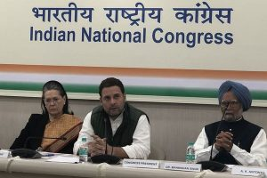 Pulwama attack 'disgusting': Congress expresses solidarity with Govt, security forces