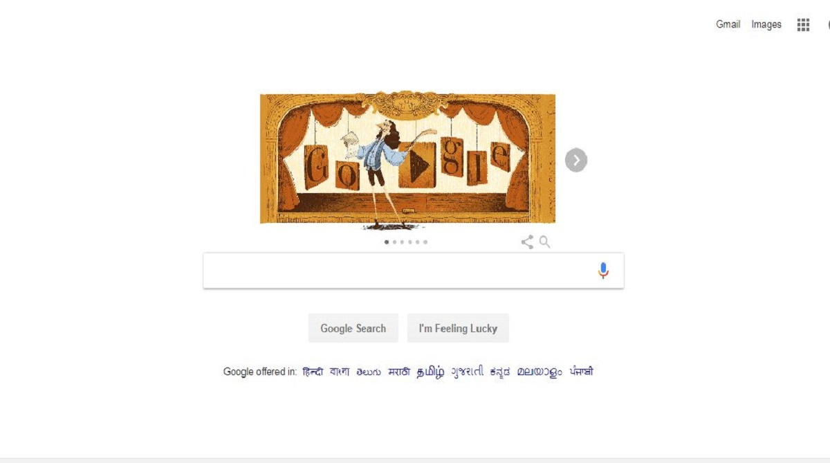 Google doodle, Molière, The Imaginary Invalid, French theatre, Tartuffe
