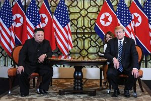 No lifting of economic sanctions, Donald Trump tells Kim Jong-un at Hanoi