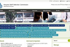 HSSC Constable PST results declared at hssc.gov.in | PMT on February 12