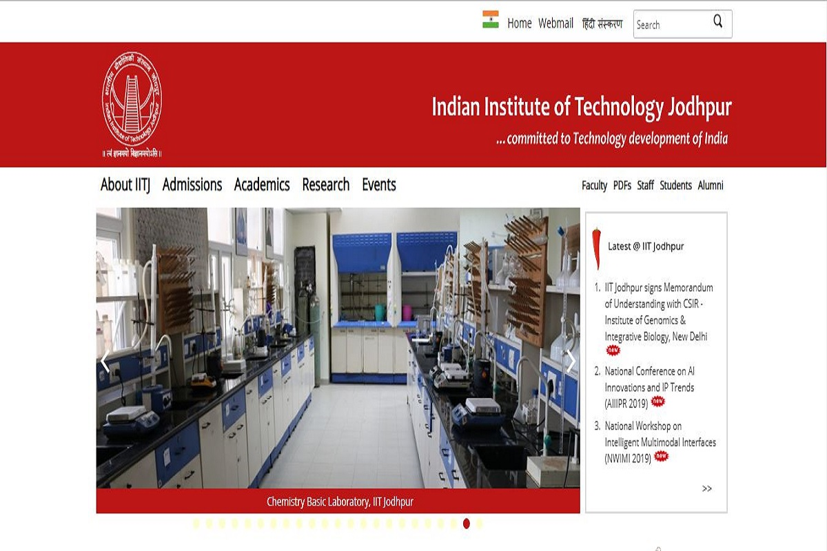 IIT Jodhpur recruitment, Indian Institute of Technology, iitj.ac.in, IIT Jodhpur Non-Teaching Staff posts recruitment