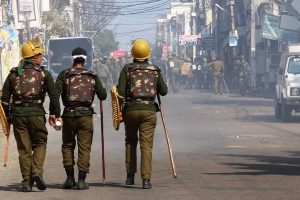 No relaxation during curfew in Jammu as Army stages flag march
