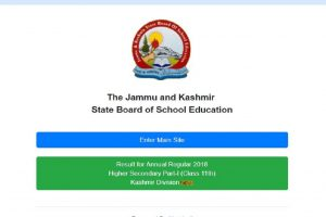 JKBOSE Class 11 results declared at jkbose.ac.in | Check here to download