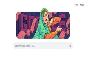 Madhubala Google Doodle on her 86th birth anniversary