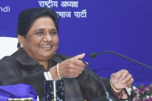 Media, BJP leaders please stop kite flying, Mayawati's retort on statue case