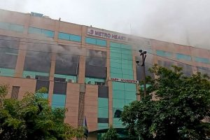 Massive fire breaks out at Noida's Metro Hospital; all patients evacuated