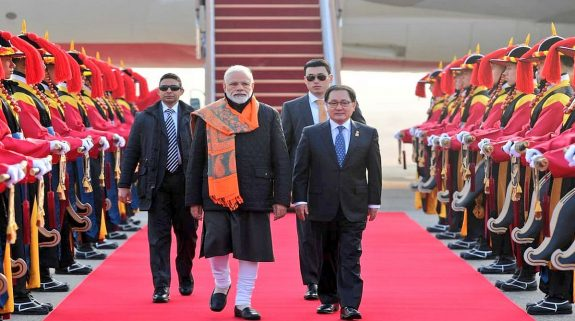PM Modi arrives in South Korea on 2-day visit to bolster 'Act East Policy', strategic ties