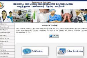 MRB recruitment 2019: Apply for 2345 Nurses posts till February 27 at mrb.tn.gov.in