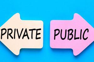 In public service…