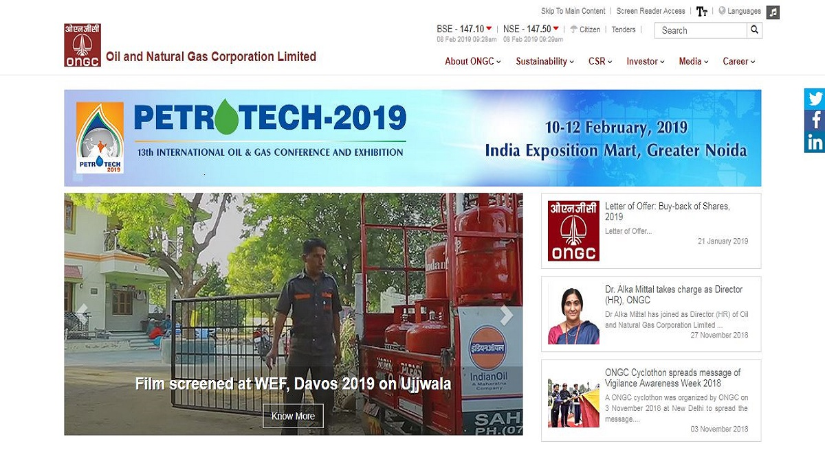 ONGC recruitment 2019, 737 Non-Executive posts, Oil and Natural Gas Corporation Limited, ongcindia.com, ONGC recruitment