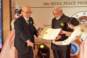 PM Modi awarded Seoul Peace Prize; India, S Korea ink 7 pacts, agree to bolster defence, economic ties