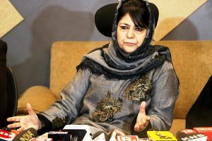 Afzal Guru's mortal remains be given to his family, demands Mehbooba Mufti