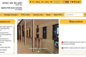 RPSC releases answer key for Teacher recruitment exam at rpsc.rajasthan.gov.in | Direct link here