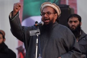 'Abide by bilateral commitment': India protests Hafiz Saeed rally at Kashmir event in Pak