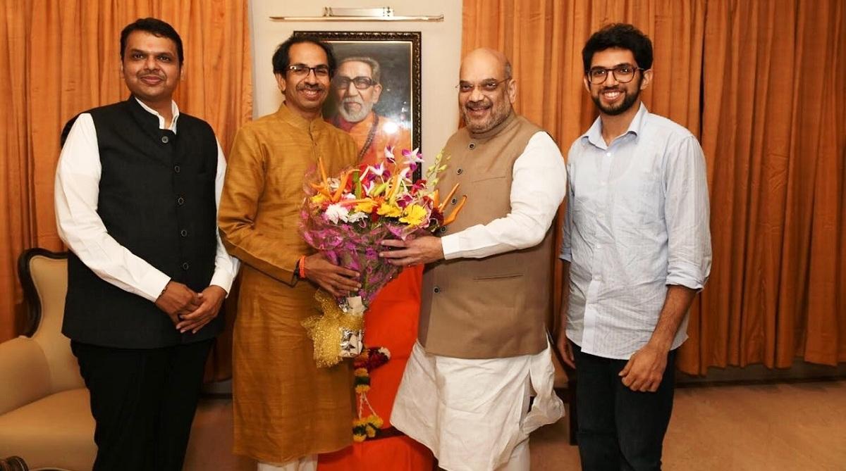 BJP, Shiv Sena, Lok Sabha polls, Uddhav Thackeray, Devendra Fadnavis, Amit Shah, NDA, Prime Minster Narendra Modi, Narendra Modi