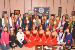 Springdales School in Dhaula Kuan organises special assembly to welcome Kazakhstan delegation