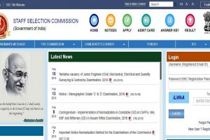 SSC JE recruitment: Online application process closes tomorrow, apply now at ssc.nic.in