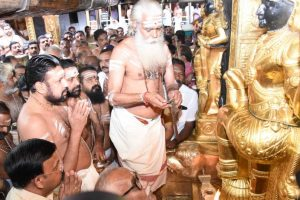 Amid reports of possible tension, Sabarimala temple opens for 5-day puja