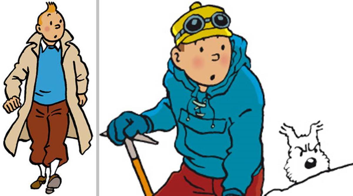 Nonagenarian Tintin