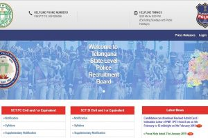 TSLPRB reschedules SI and Constable PET | Admit cards to be released on February 5 at tslprb.in
