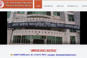 UPSESSB releases Trained Graduate Teacher admit cards at upsessb.org | Download now