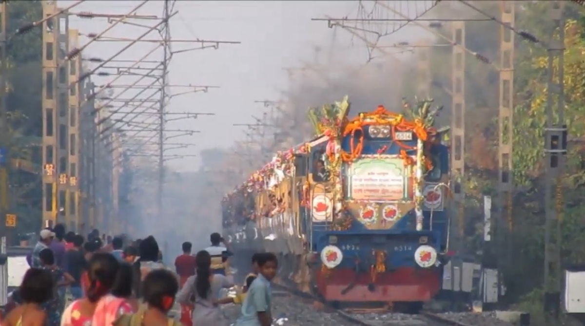 This India-Bangladesh Urs Special train has been in operation since 1902