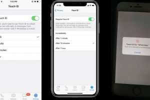 How to activate WhatsApp Touch ID, Face ID on your phone