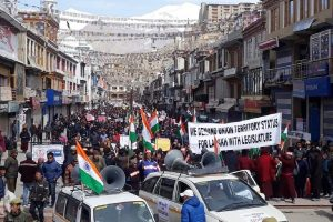 Ladakh: Cutting across party, religious lines, residents intensify protest demanding UT status