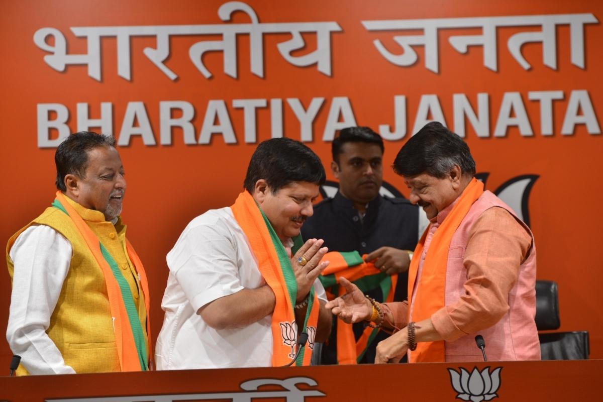Trinamool Congress, Arjun Singh, BJP, West Bengal