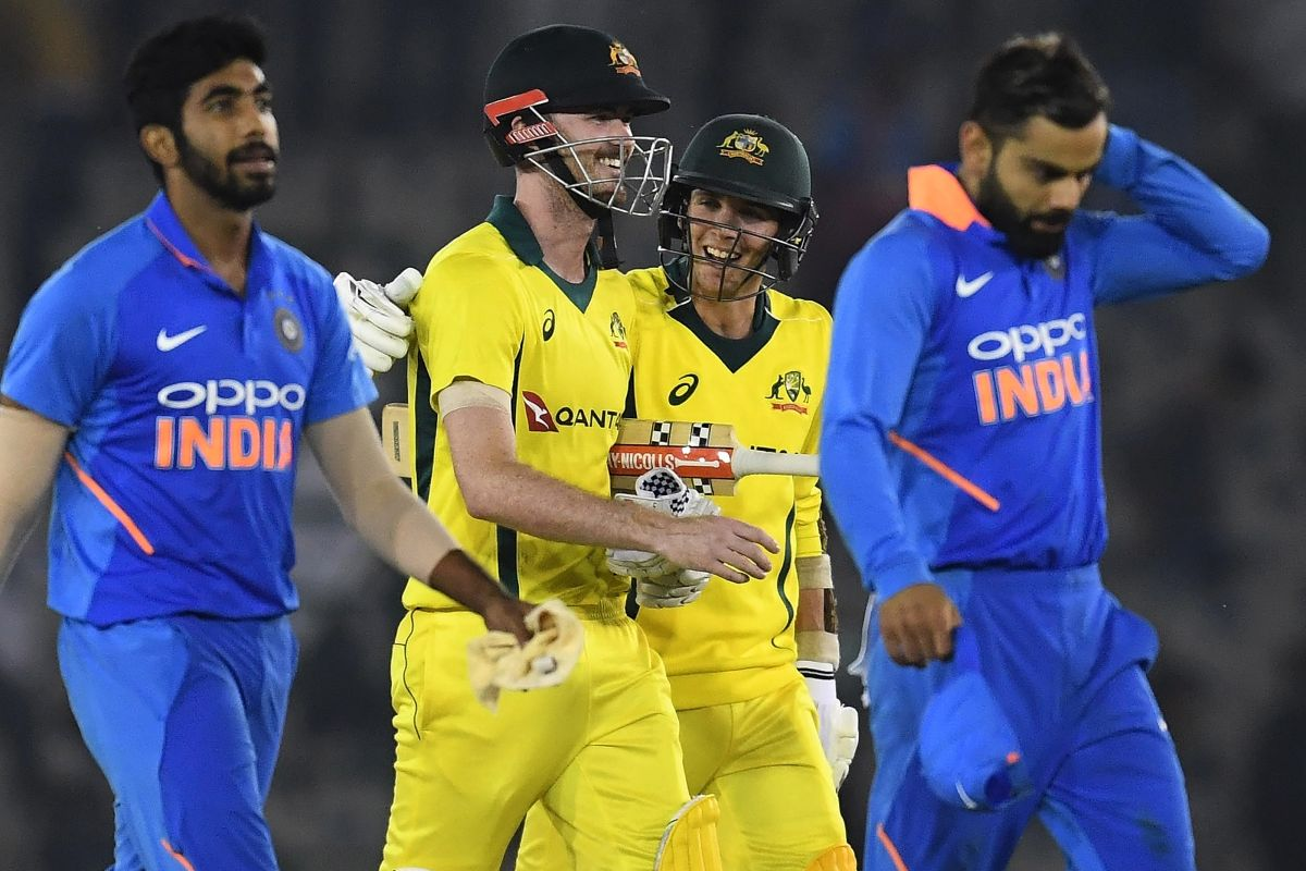 Australia beat India in 4th ODI, level series