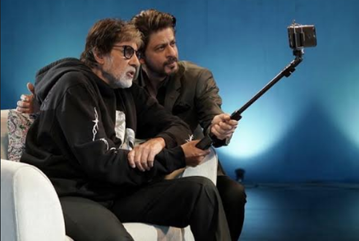 Badla Unplugged: Shah Rukh Khan, Amitabh Bachchan pay ode to each other