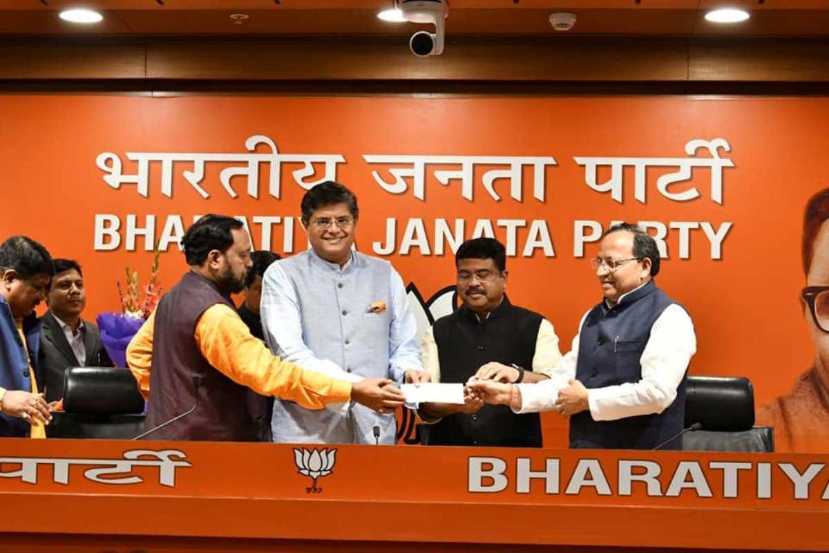 Baijayant Jay Panda, BJP, Amit Shah, Odisha BJP, Dharmendra Pradhan