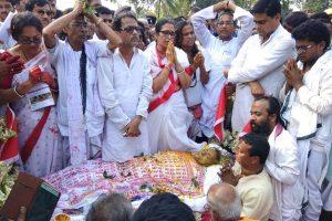 Matua matriarch Boroma cremated with full state honours in Thakurnagar