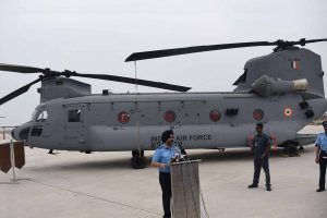 Air warriors underwent special training in US to fly IAF Chinook helicopters