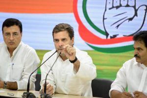 Rahul Gandhi announces mega NYAY scheme for 20% of India's poor
