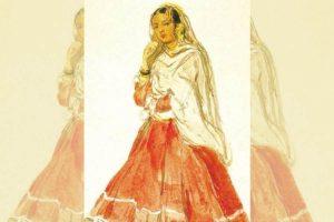 The dancing houris of Rajputana and Delhi