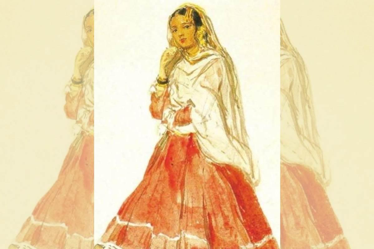 dancing houris, dancing girls, nautch girls, Rajputana, Delhi, British rule, GB Road
