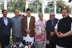 Lok Sabha polls 2019: National Conference, Congress enter pre-poll alliance in Jammu-Kashmir